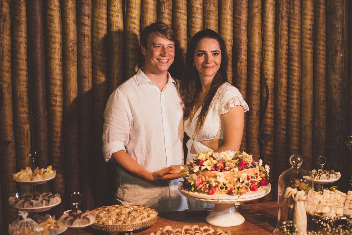 Foto de Camila e Malte