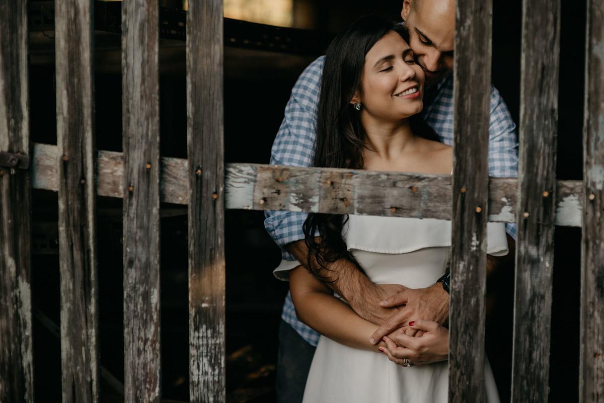 Foto de Bárbara e Pedro