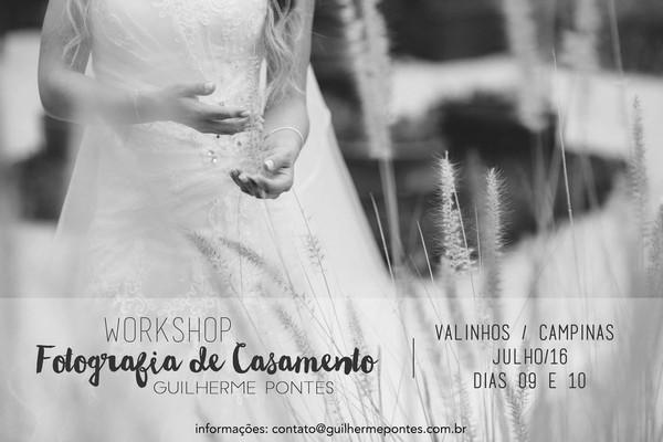Cursos de WS | Fotografia de Casamento