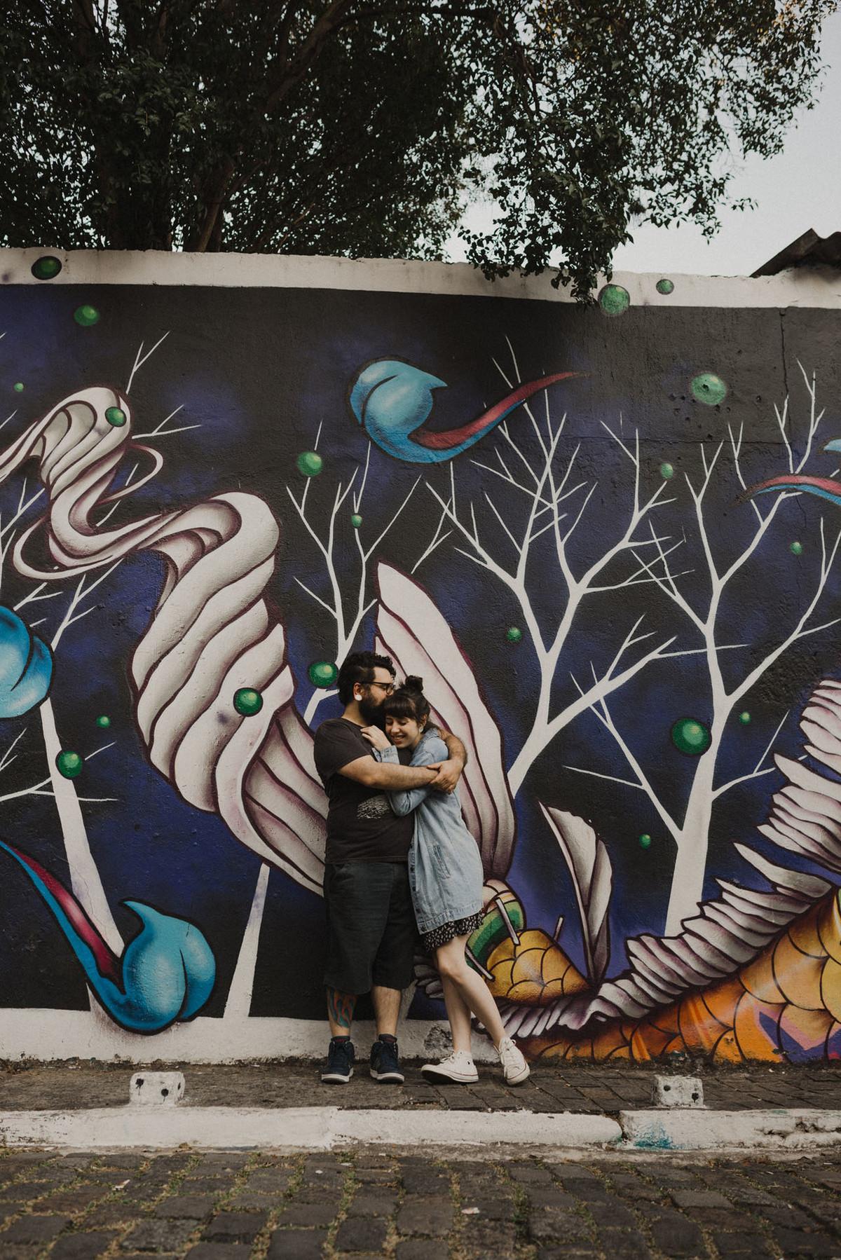 Foto de Nathália e Tiago