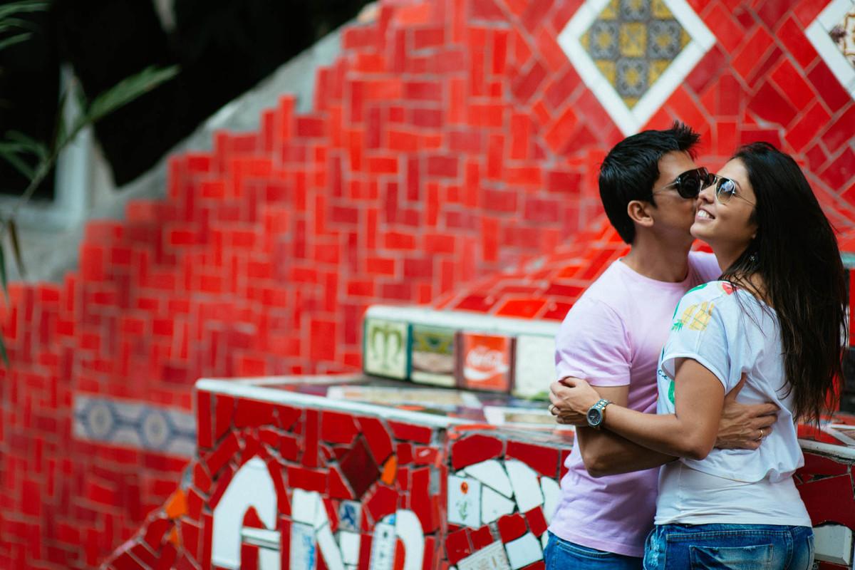 Foto de Bruna e Thiago