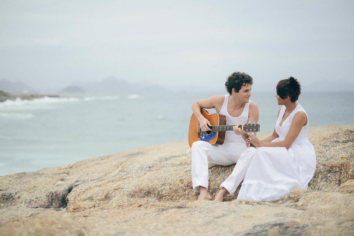 Foto de Aparecida e Felipe