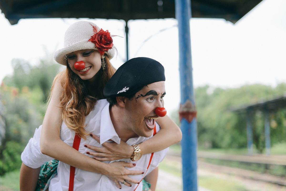Foto de Ana e André