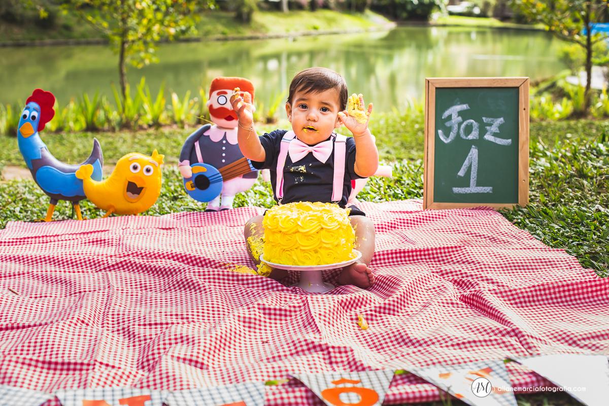 smash the cake Antonio