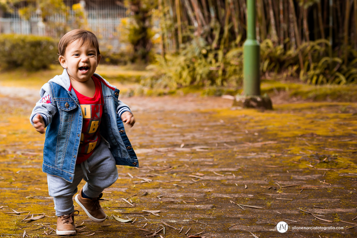 ensaio infantil externo