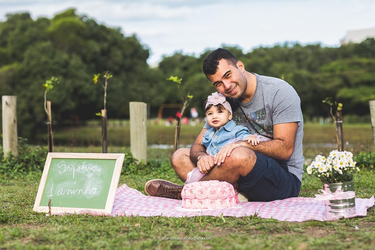 ensaio do pai com a filha