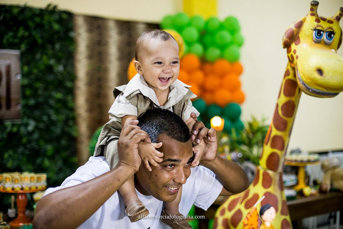 festa infantil pai e criança