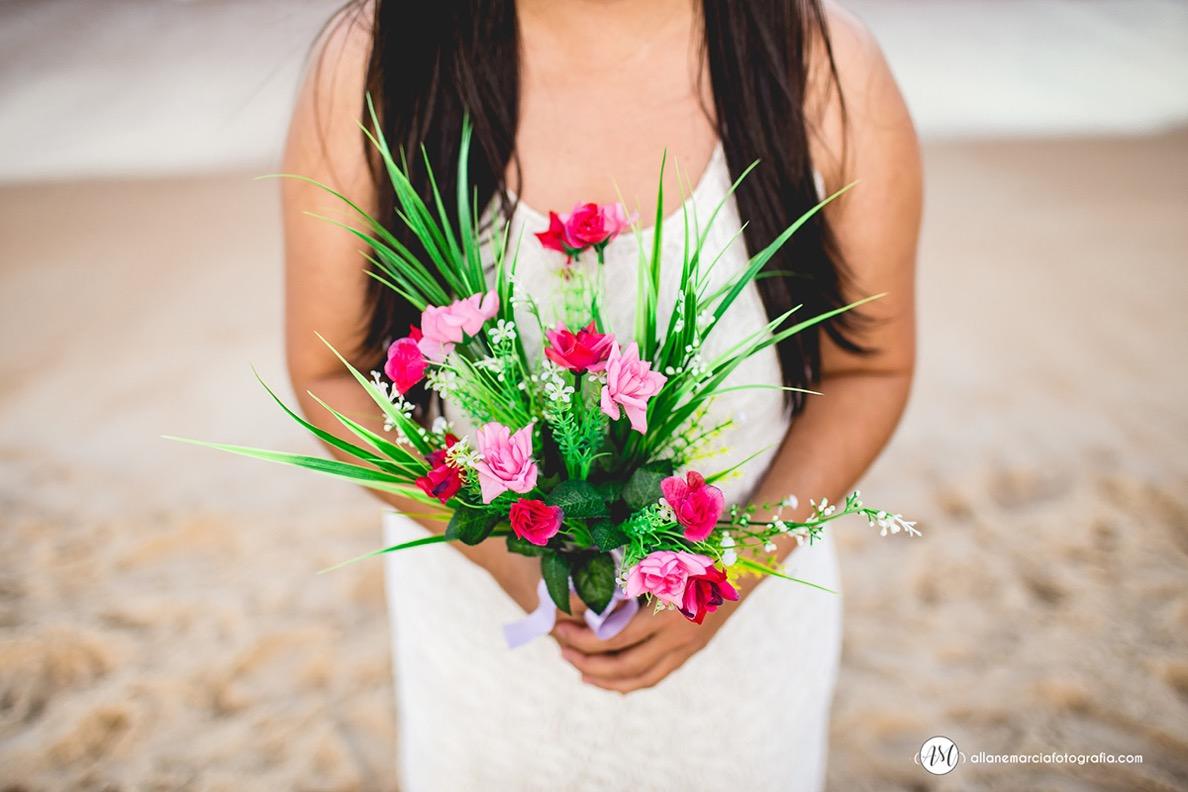 bouquet para ensaio de noiva