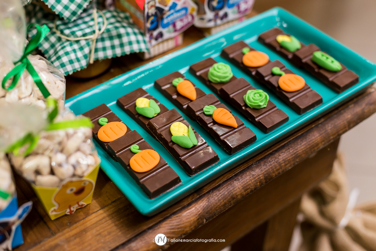 chocolate para festa infantil