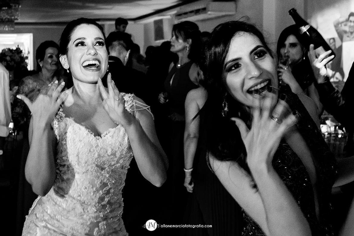 pista de dança com noiva