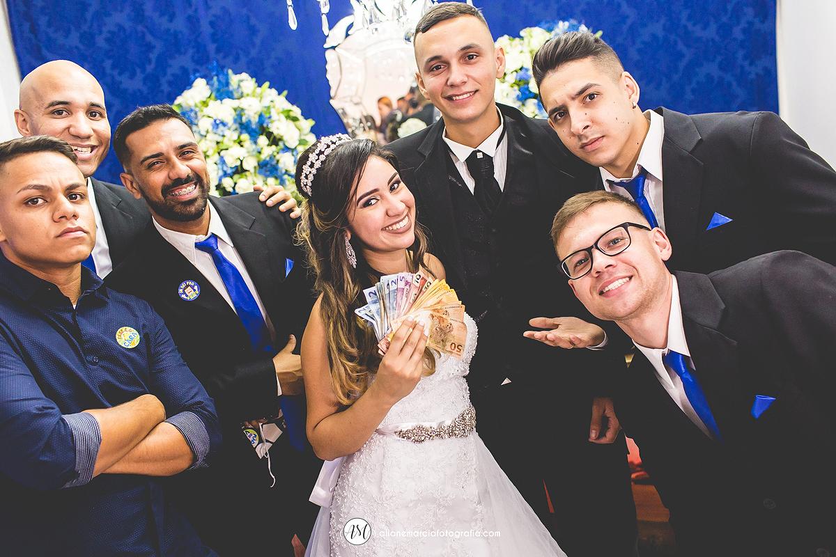 gravata em casamento