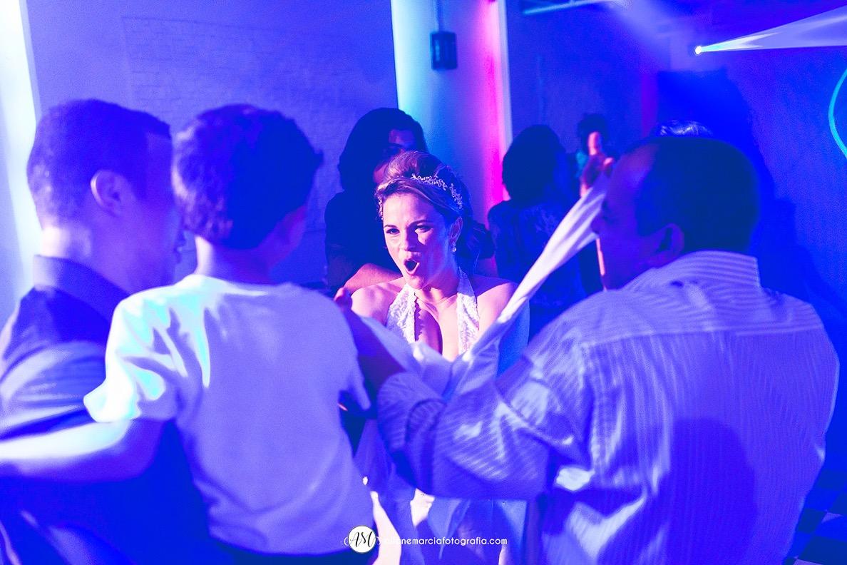 pista de dança de casamento