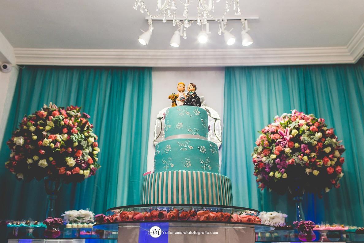 bolo fake para casamento