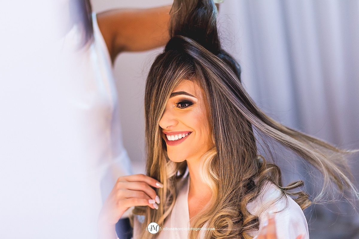 penteado lindo para noivos