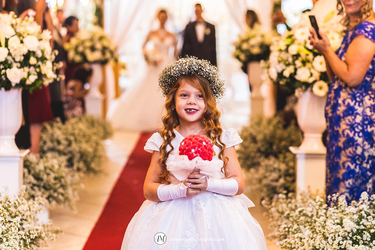 florista em casamento