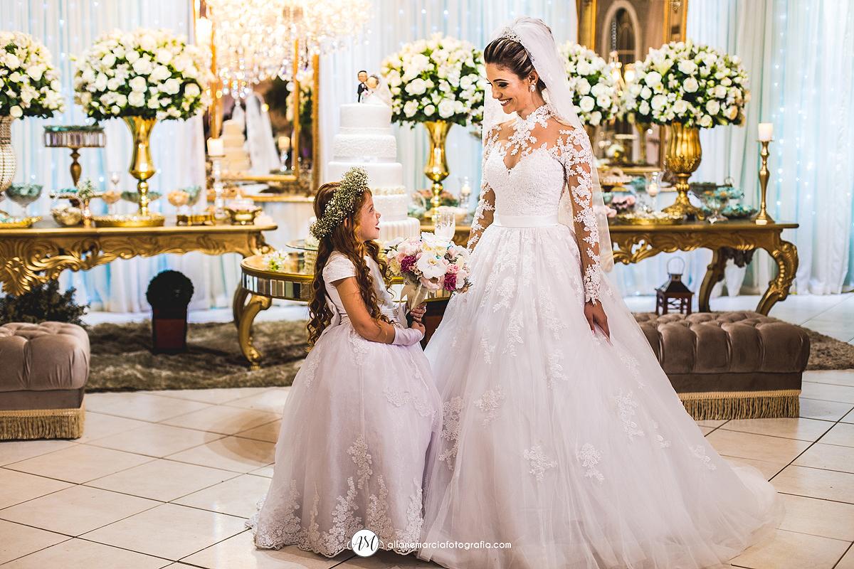 noiva com a dama