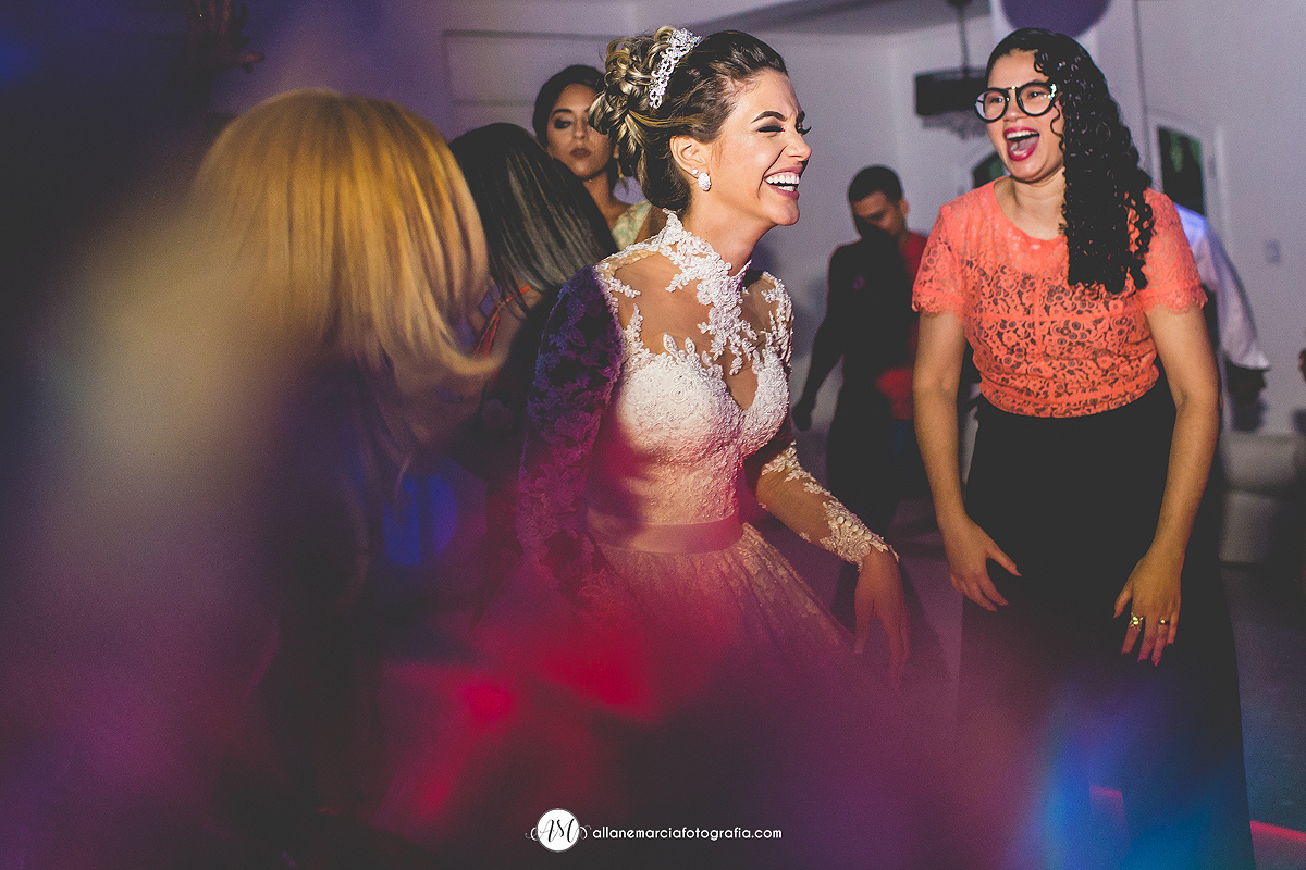 noiva dançando