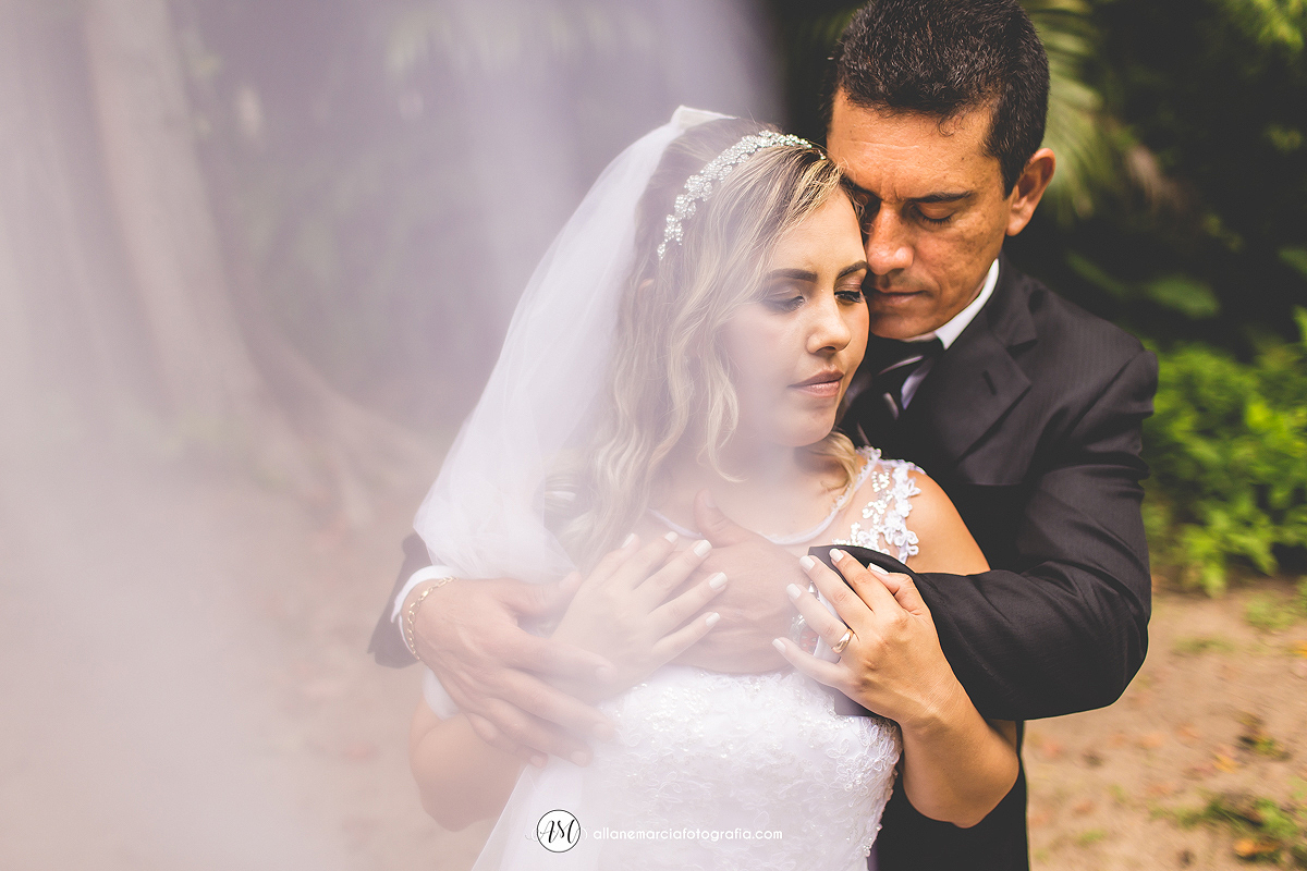 foto incrível de casamento