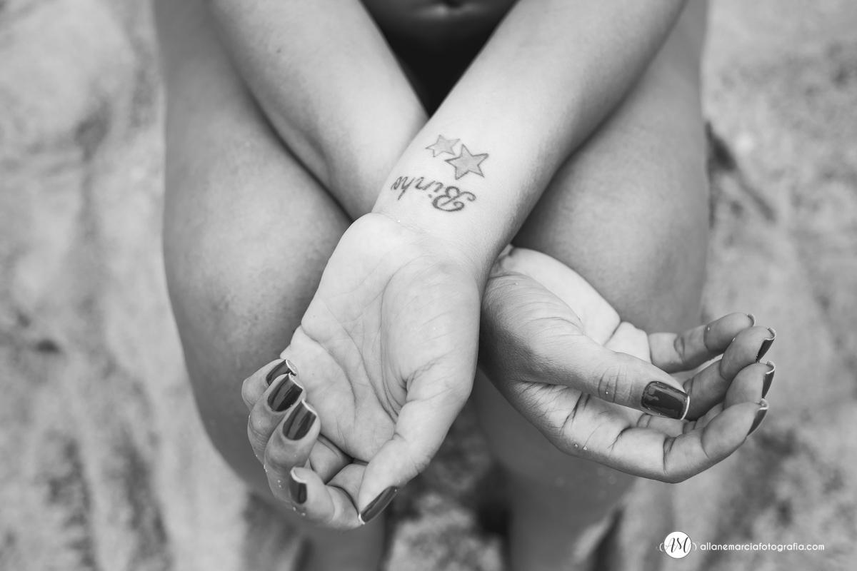 tatuagem em grávida