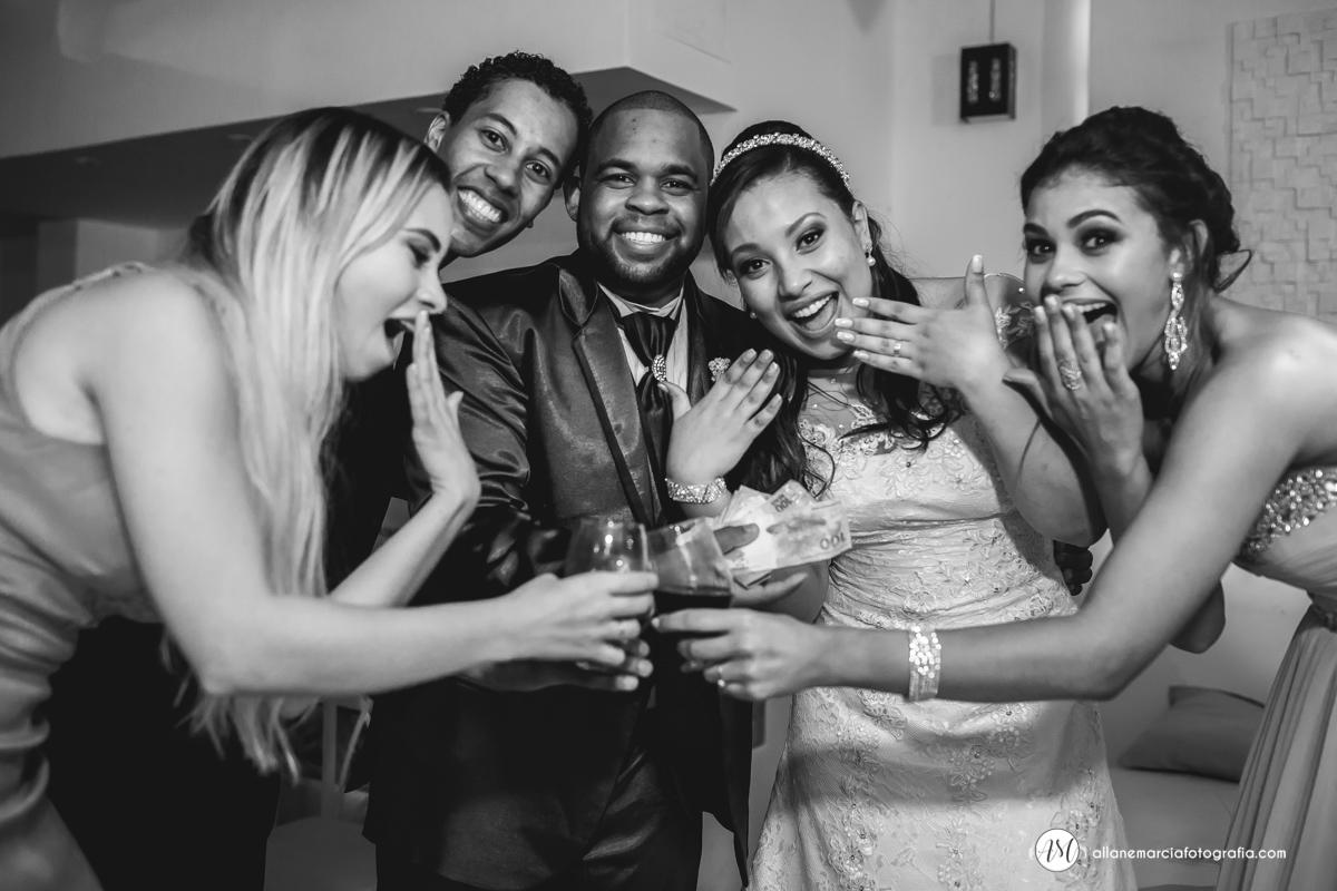hora da gravata no casamento