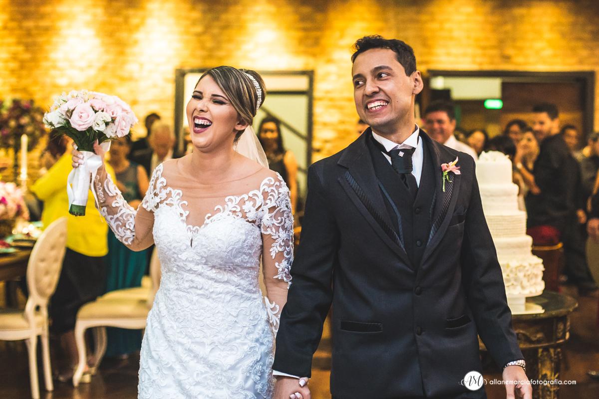 entrada de noivos na festa