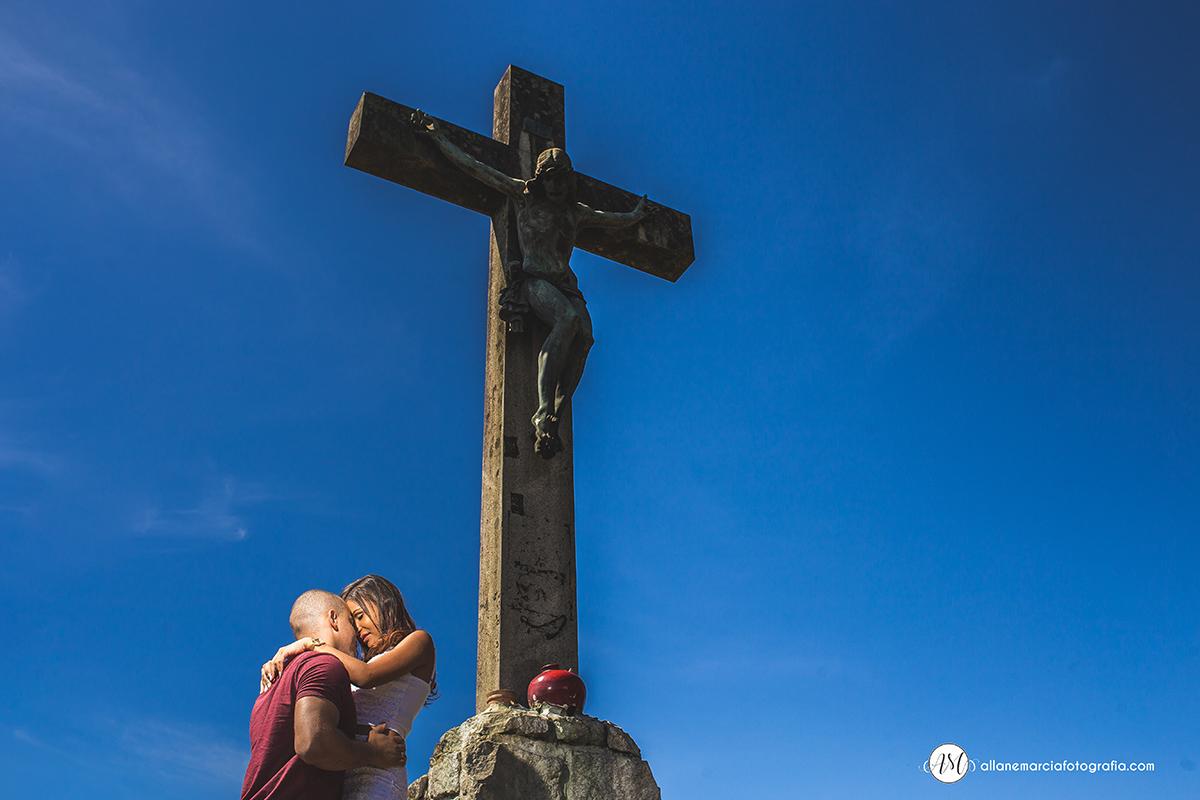 noivos cruz Jesus