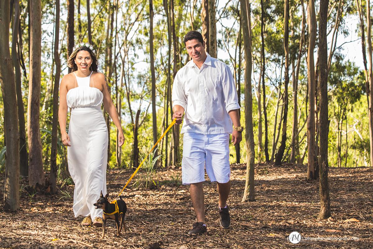 fotos de casal com cachorro