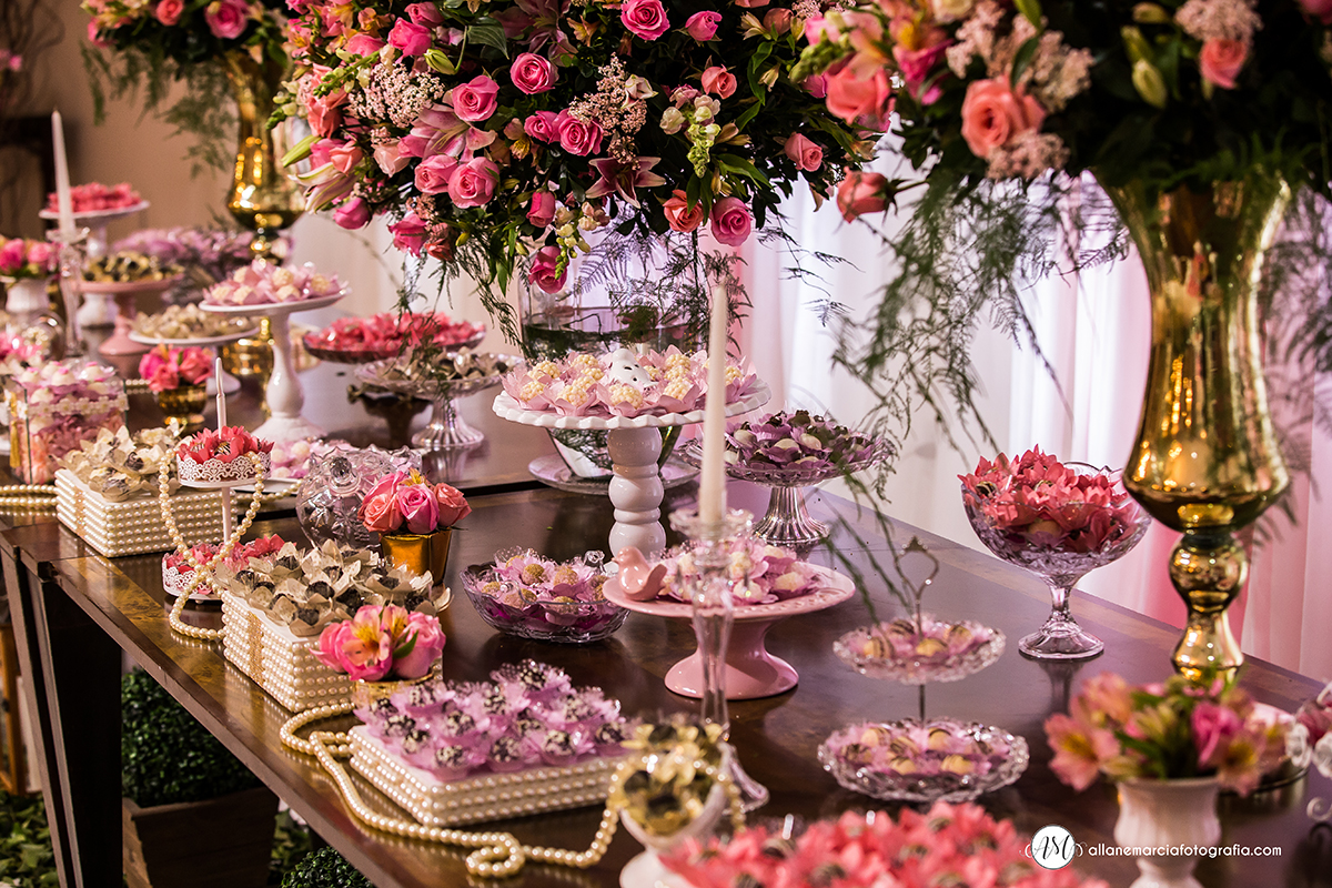 mesa de casamento