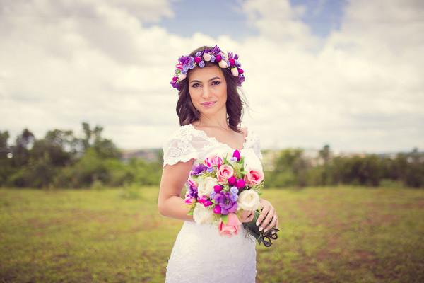 Casamento de Editorial de Noiva