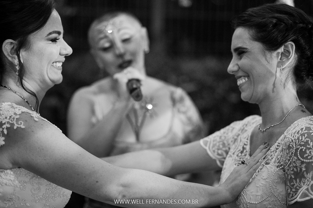 fotos emocionantes de casamento