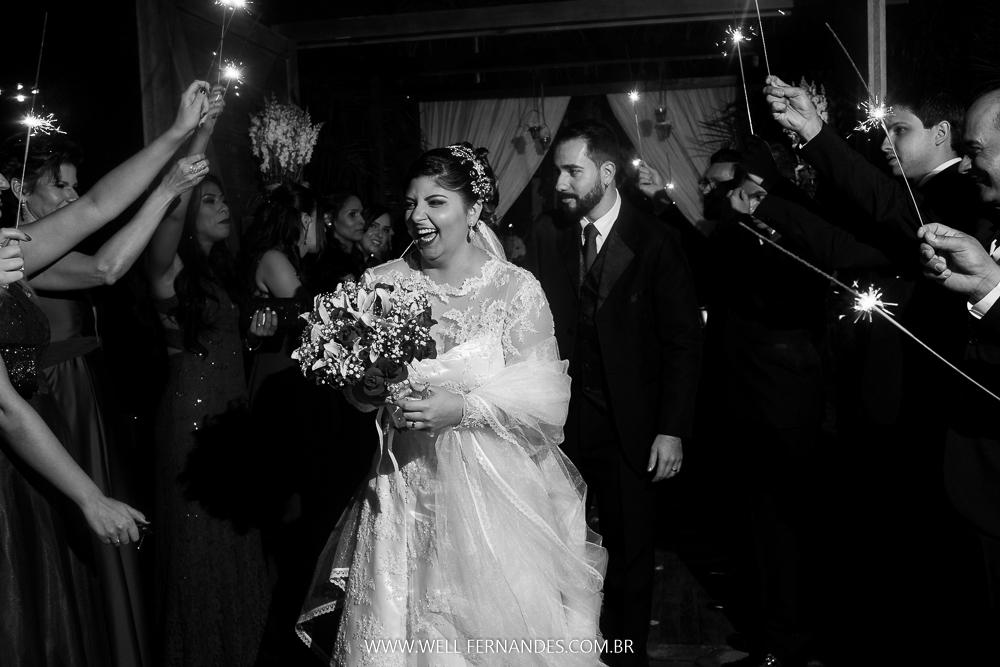 padrinhos e os noivos