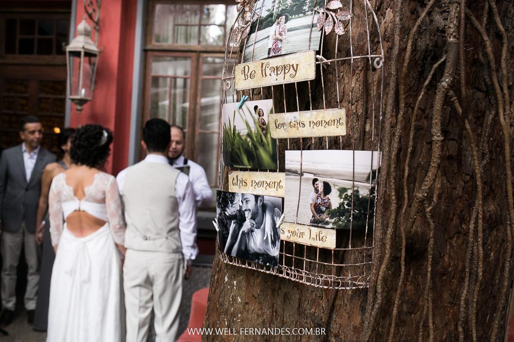 decoração par noivos rústica