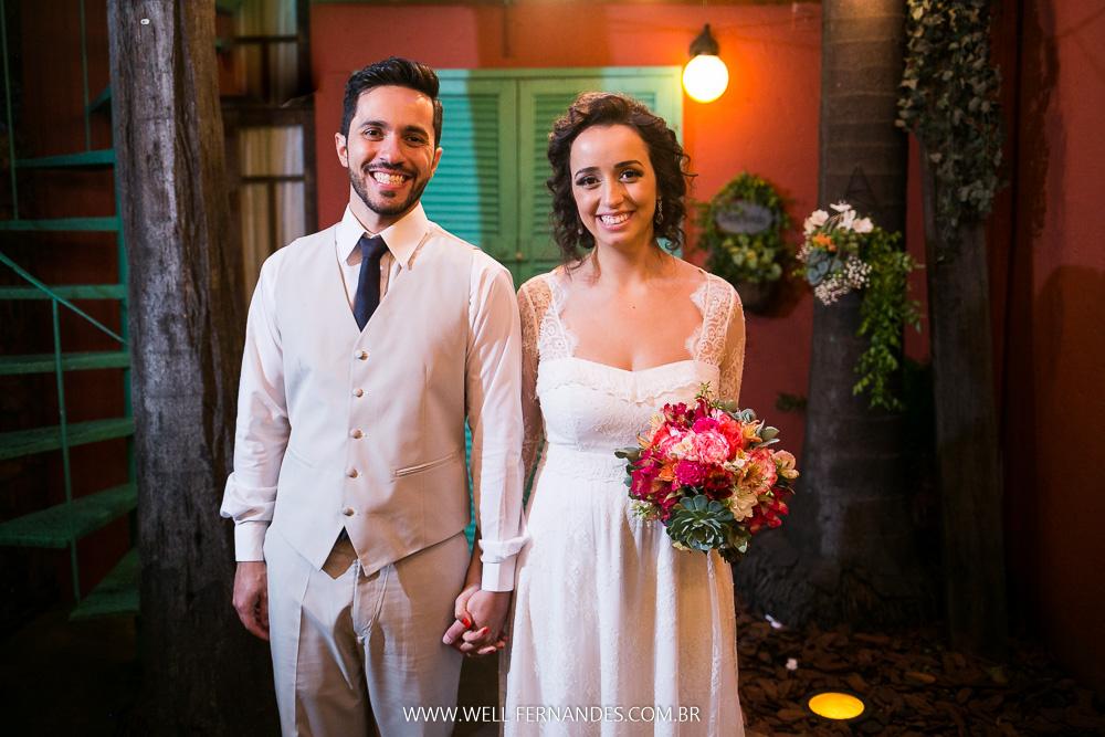 retrato do noivos