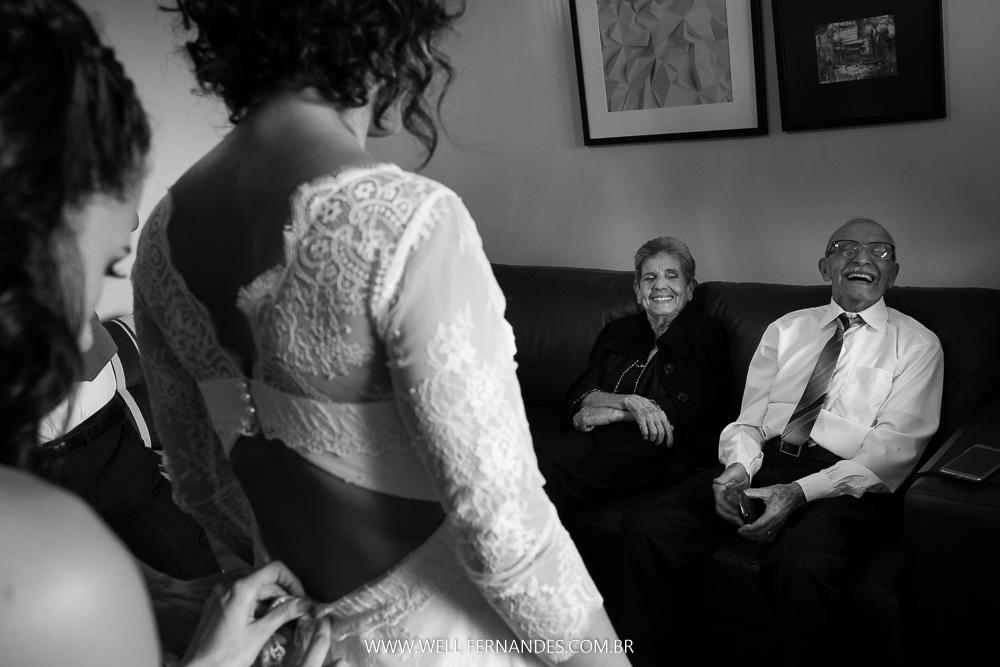 avós da noiva