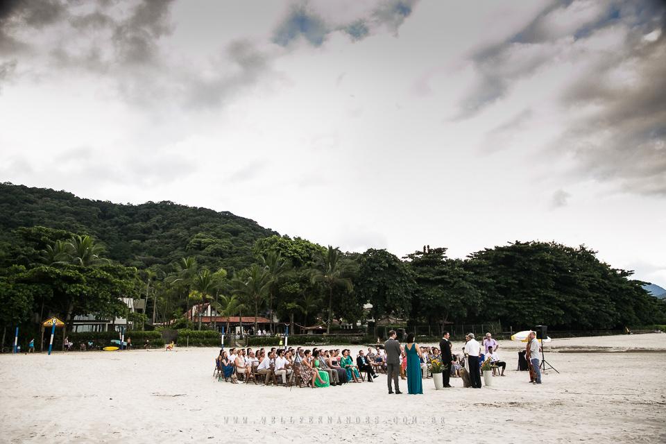 Casamento na praia - Pé na areia - Casar de dia