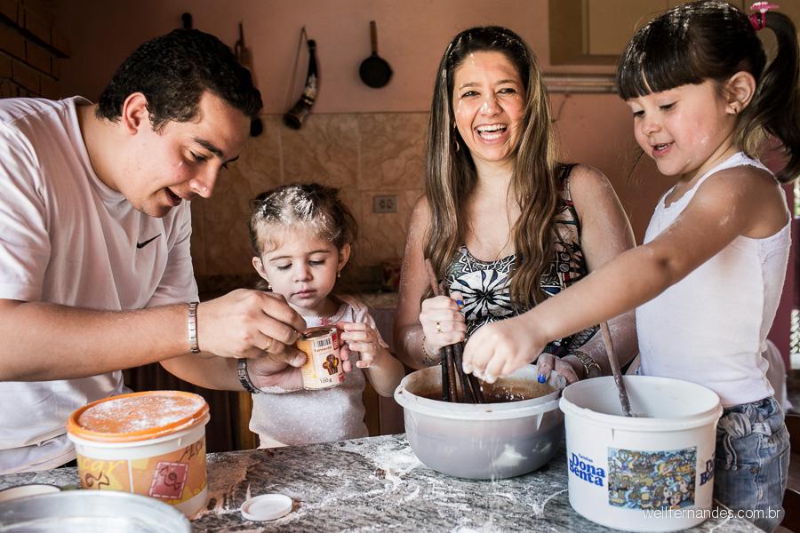 Fotografar a sua família um dia inteiro