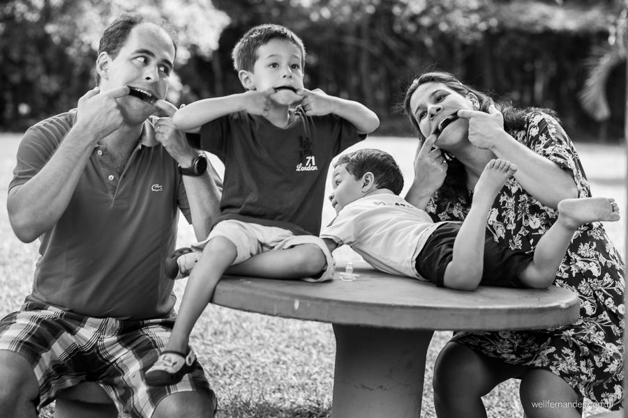 Ensaio Gestante e familia
