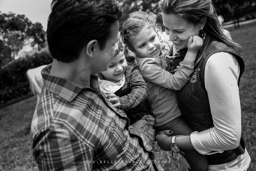 Ensaio documental de família no haras