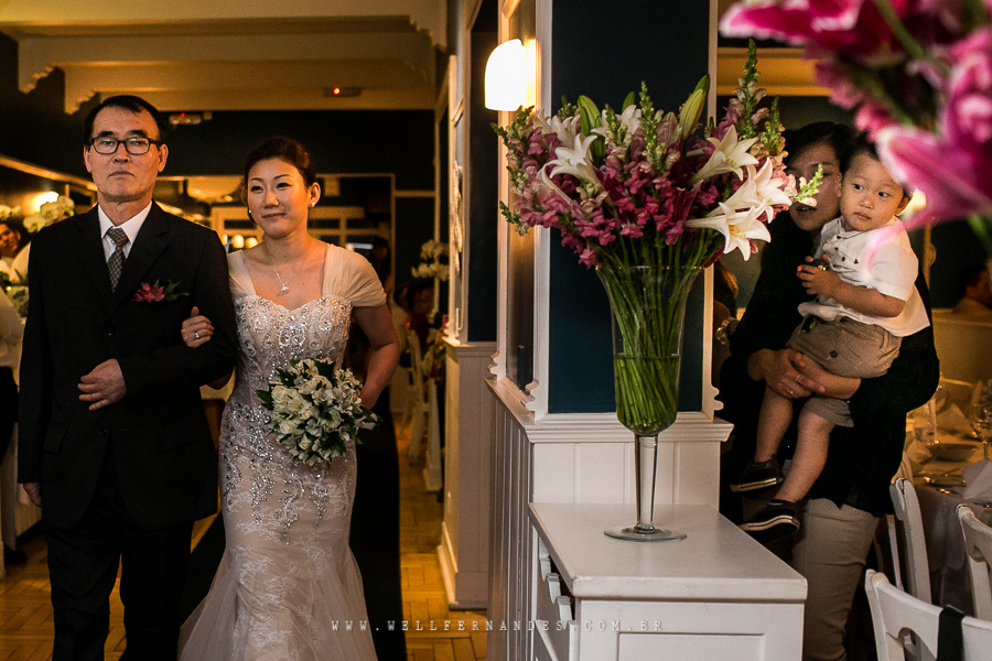fotos de casamento coreano