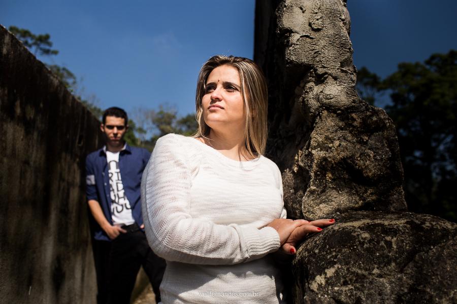 ensaio de noivos em Parabapiacaba