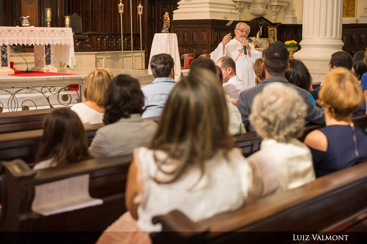 Batismo Católico - Igreja Santa Margarida Maria - Rio de Janeiro
