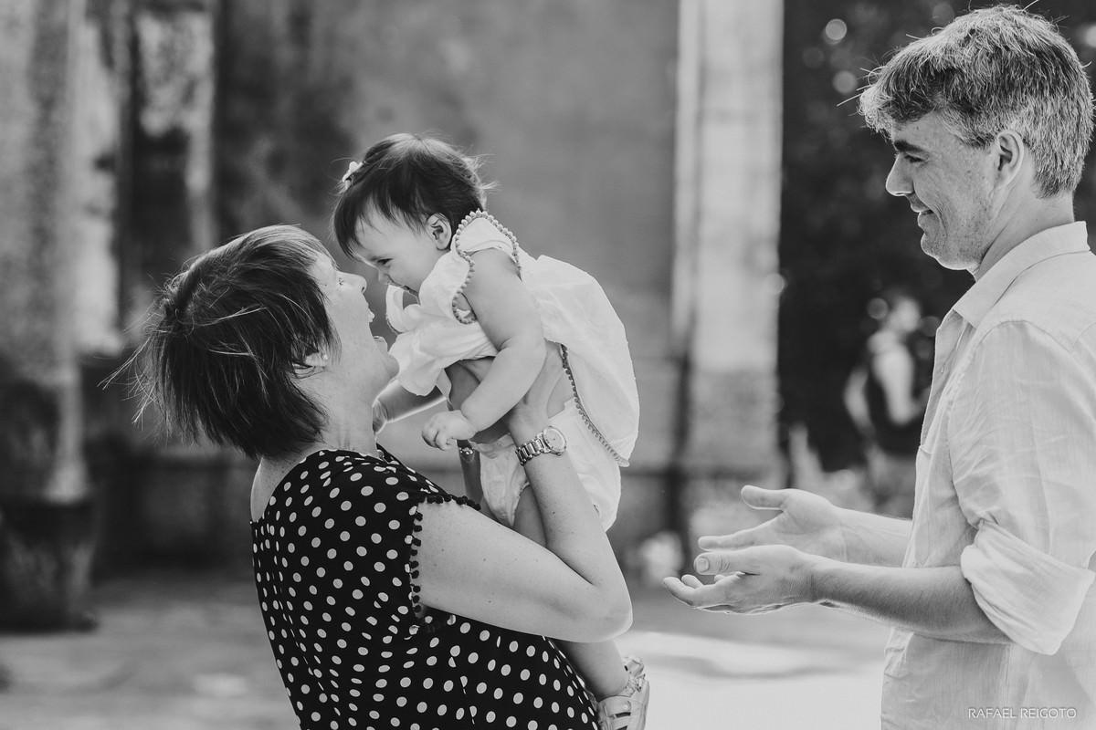 Mamãe Ana Gabriela e sua filha Catarina em ensaio no Parque Lage, Rio de Janeiro-RJ