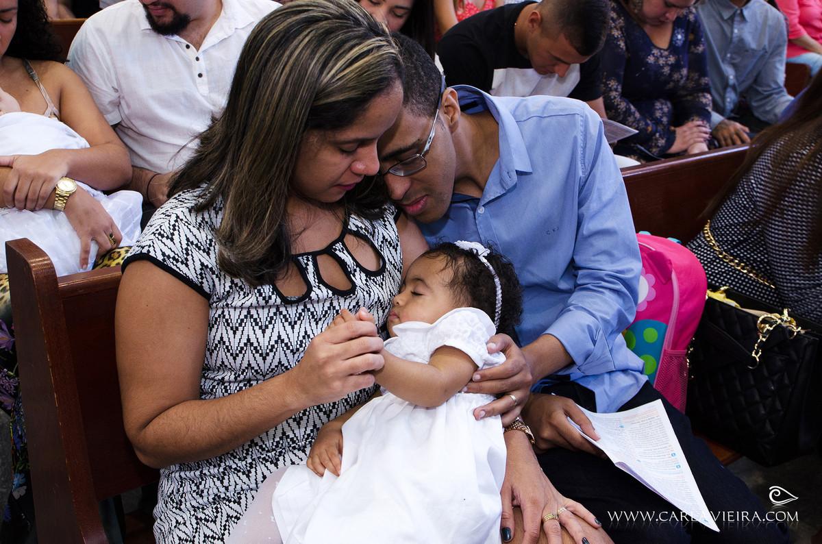 Batizado; fotografia de família