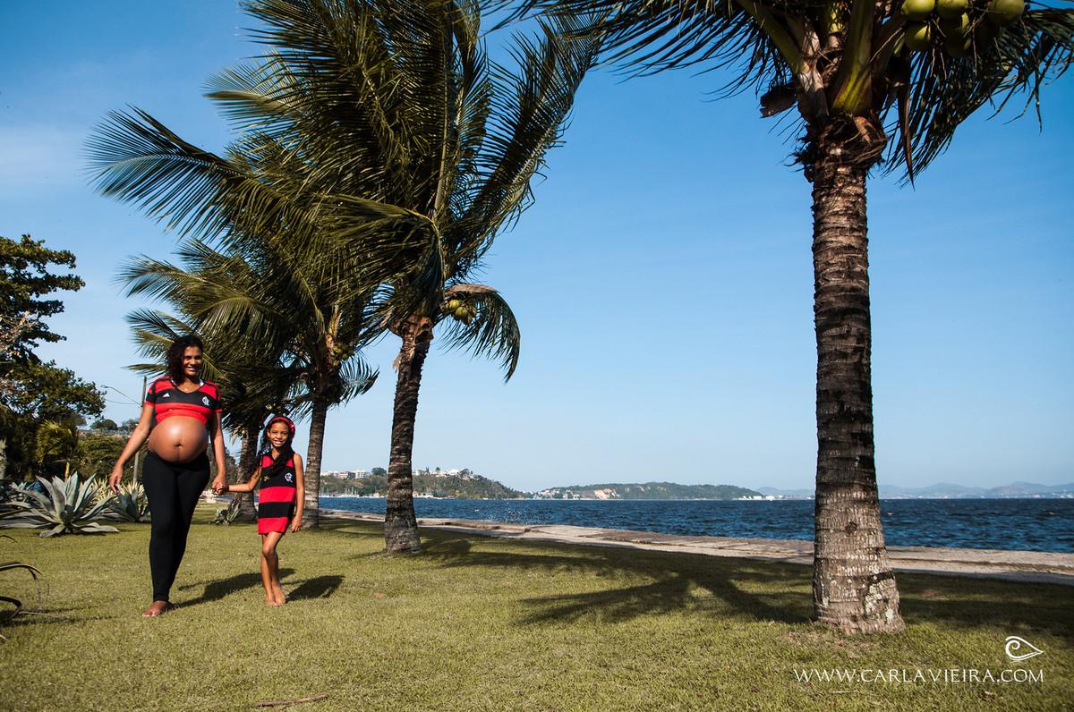 Gestante; ensaio gestante; ensaio externo; ensaio ao ar livre; ensaio na praia; flamengo;