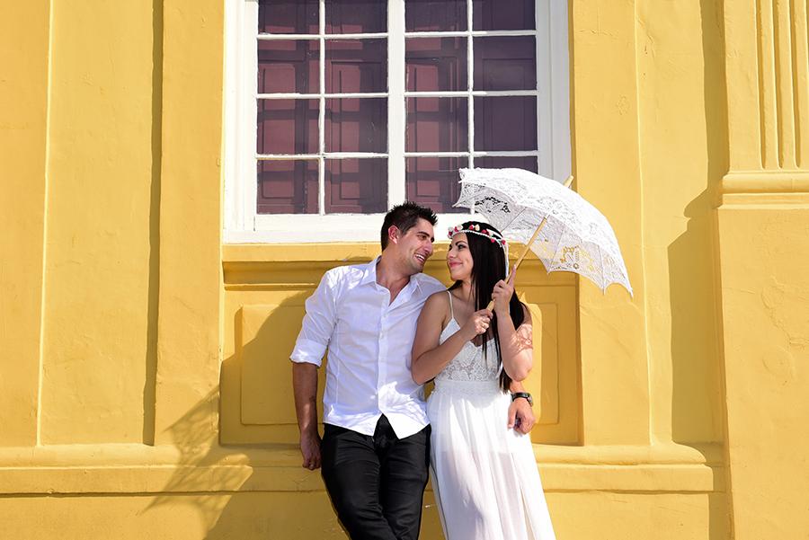 Foto de Bruna e Christian