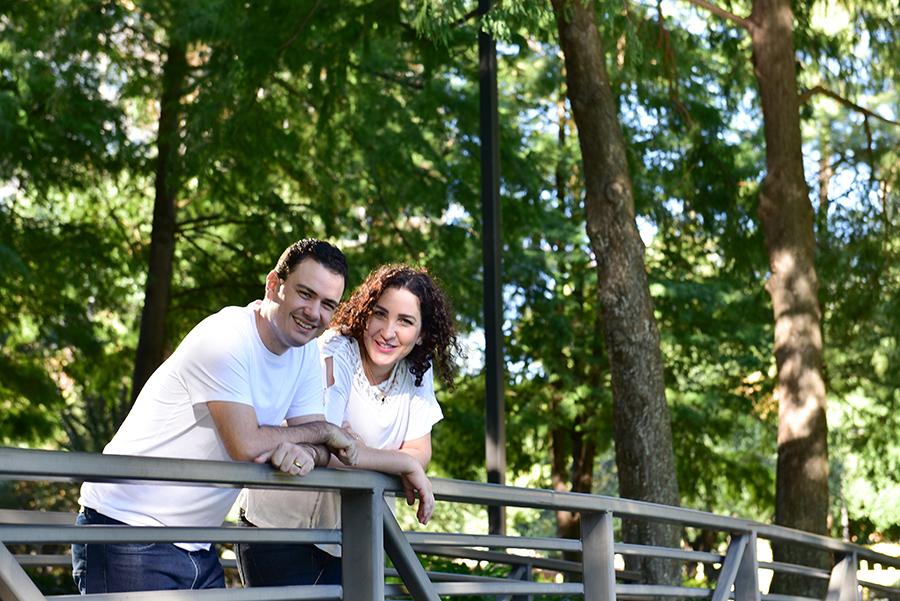 Foto de Sandra e Walter