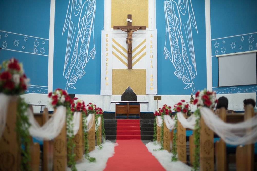 Fotografia da igreja