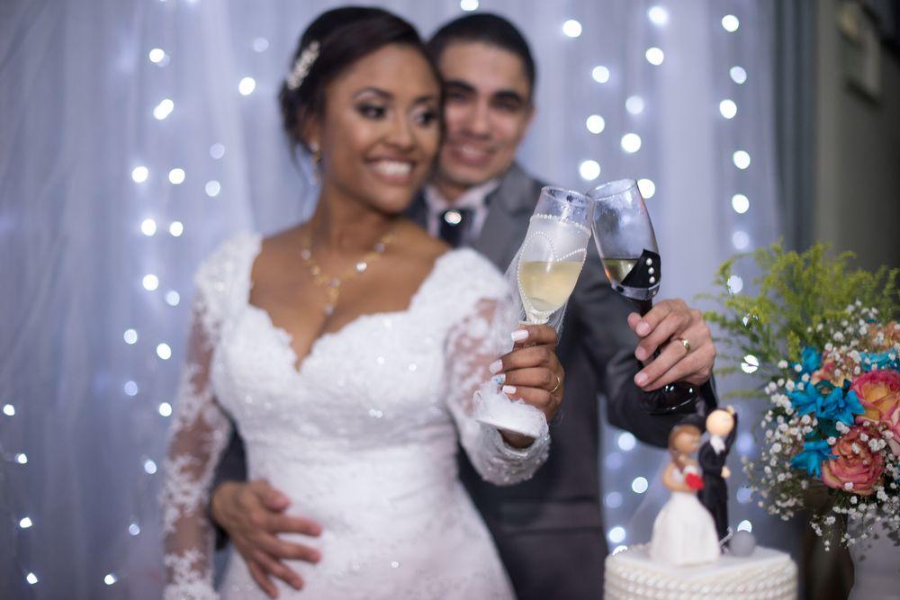 fotos do casal segurança taças