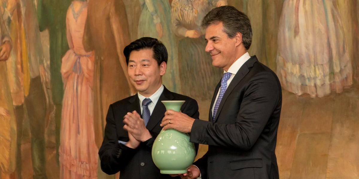 Convenção e acordo Comercial China e Brasil