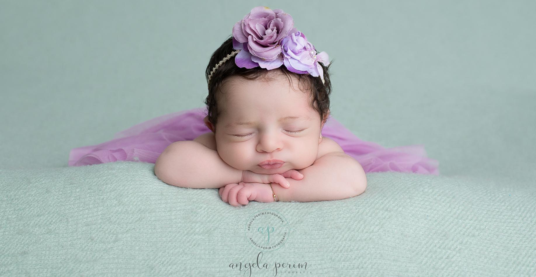 Newborn de Louise em Vila Velha - ES
